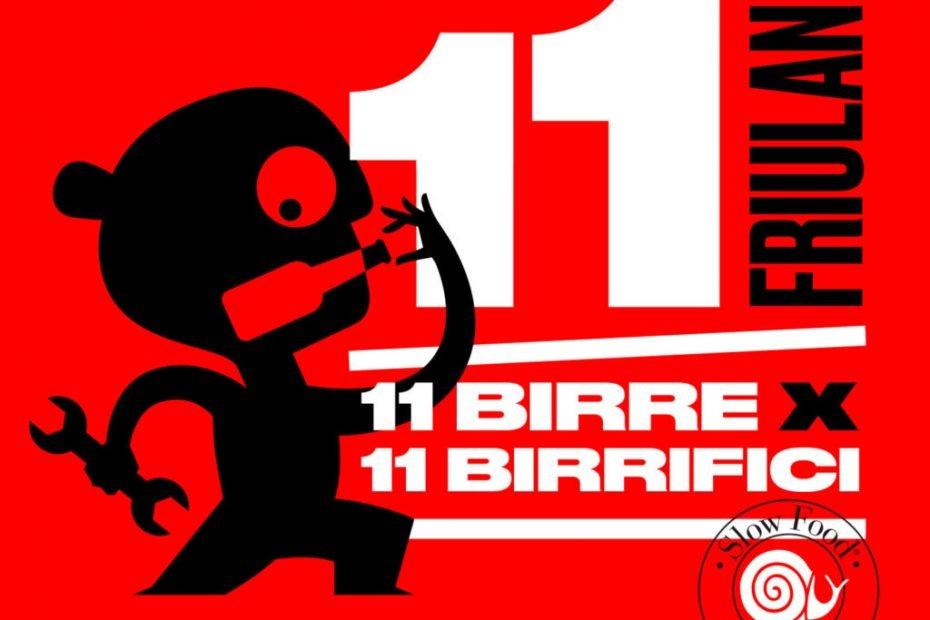 11 friulane / 11 birre x 11 birrifici