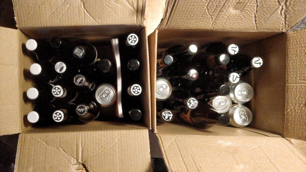 la seconda spedizione di birre